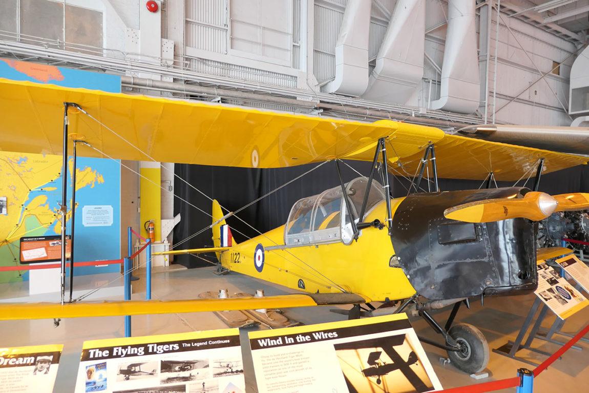 De Havilland Tiger Moth, RCAF 1122 / CF-COU, P1011804