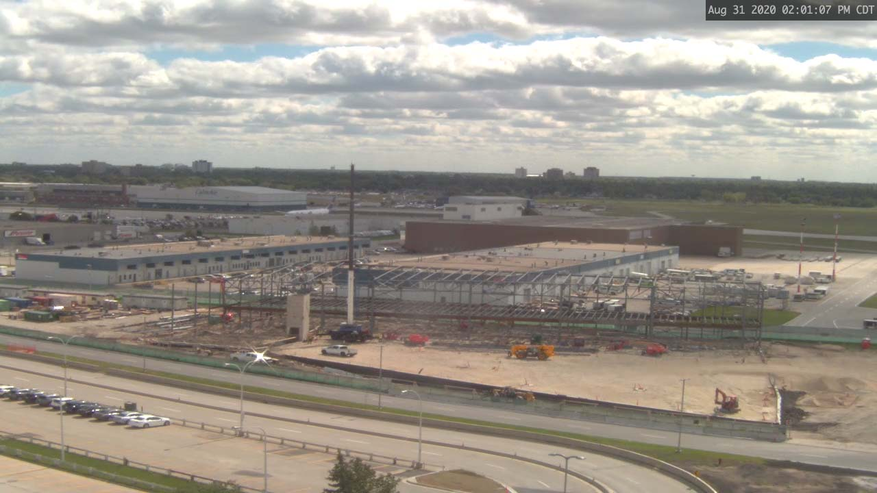 Construction Webcam August 31 2020