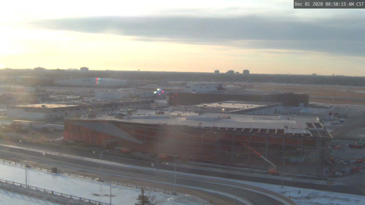 Construction Webcam December 1 2020