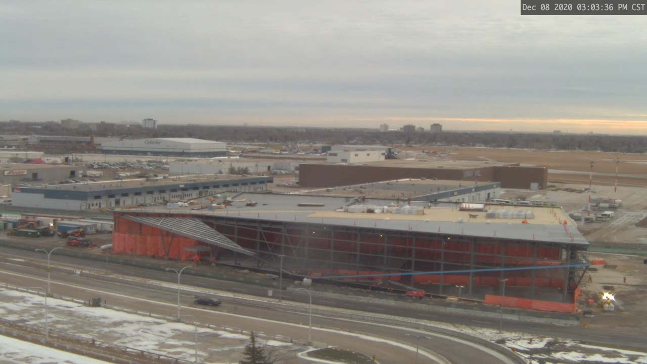 Construction Webcam December 8 2020