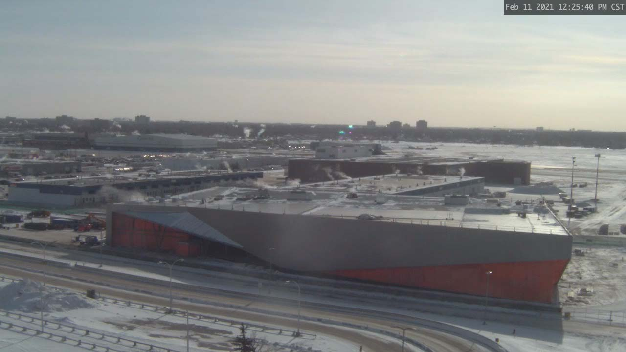 Construction Webcam February 11 2021