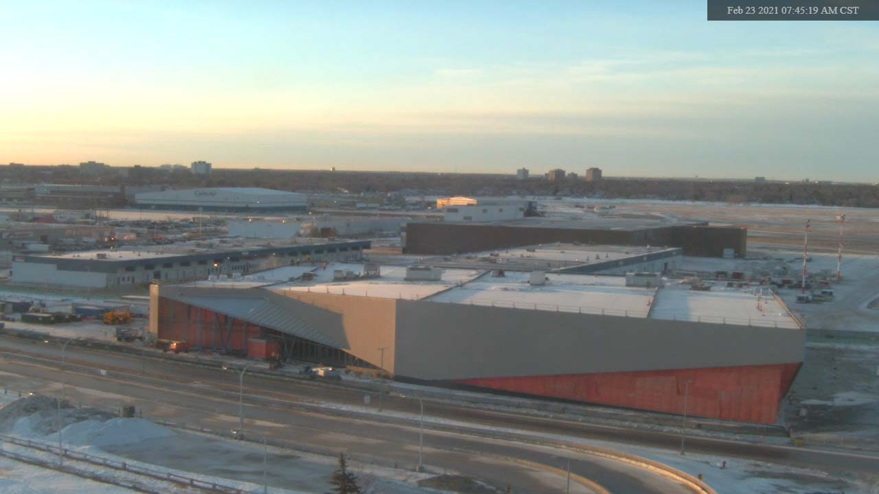 Construction Webcam February 23 2021