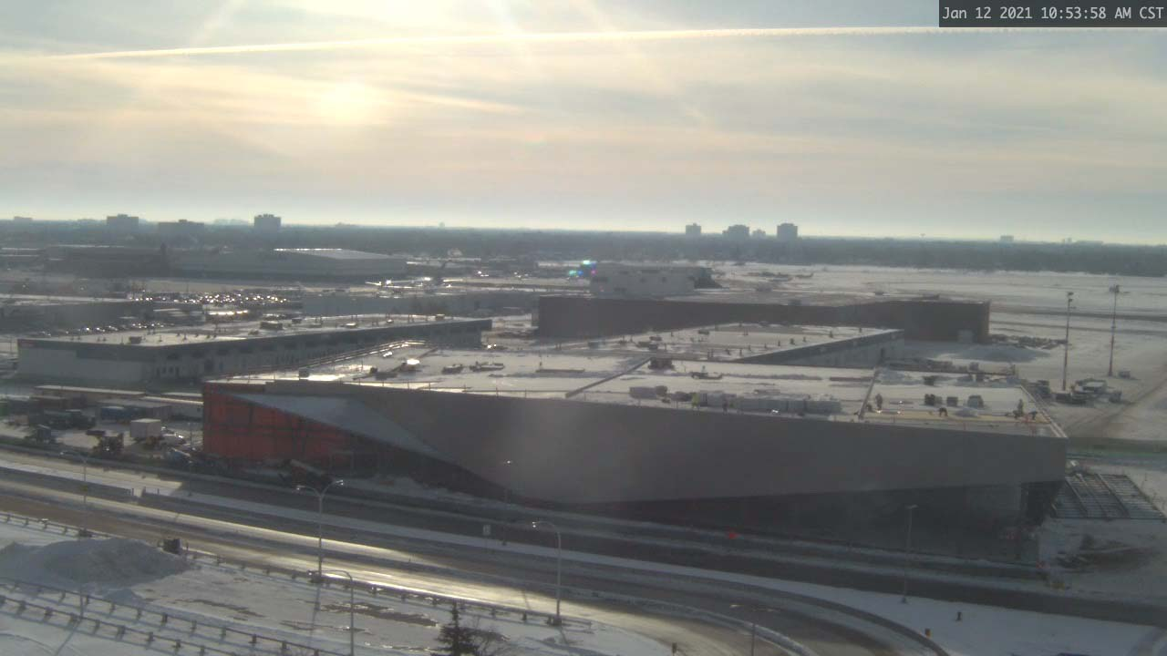 Construction Webcam January 12 2021