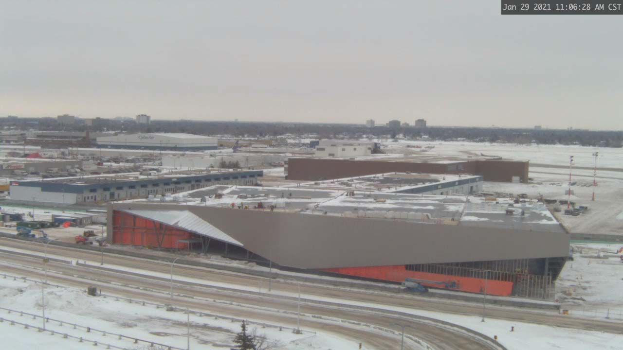 Construction Webcam January 29 2021