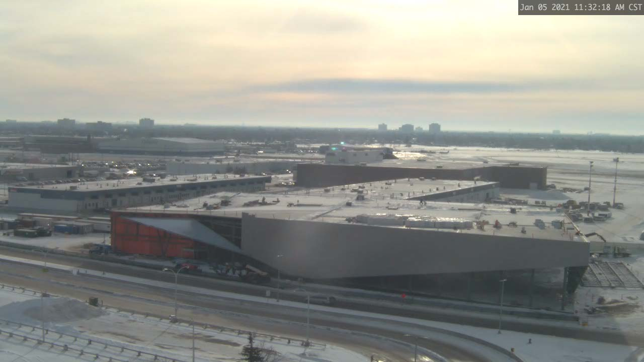 Construction Webcam January 5 2021