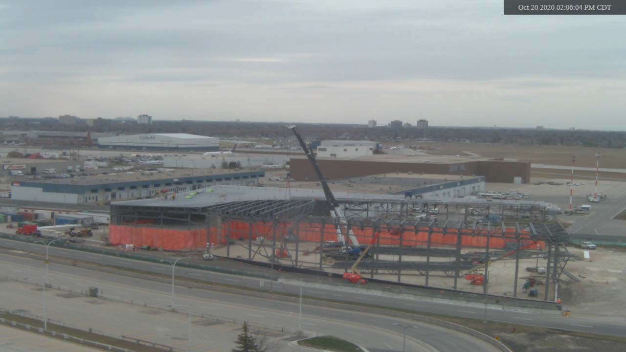 Construction Webcam October 20 2020