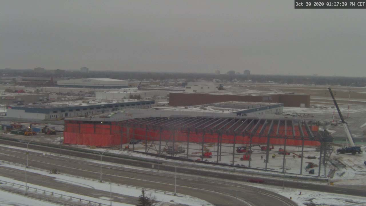 Construction Webcam October 30 2020