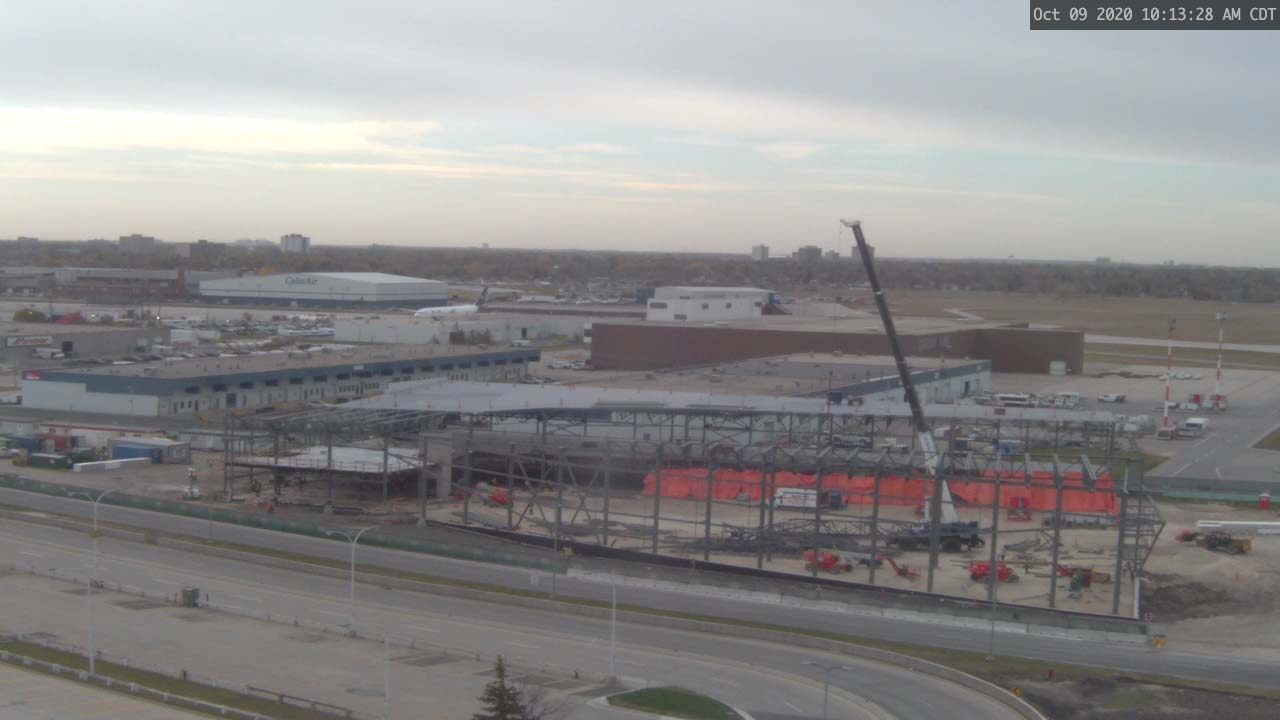 Construction Webcam October 9 2020
