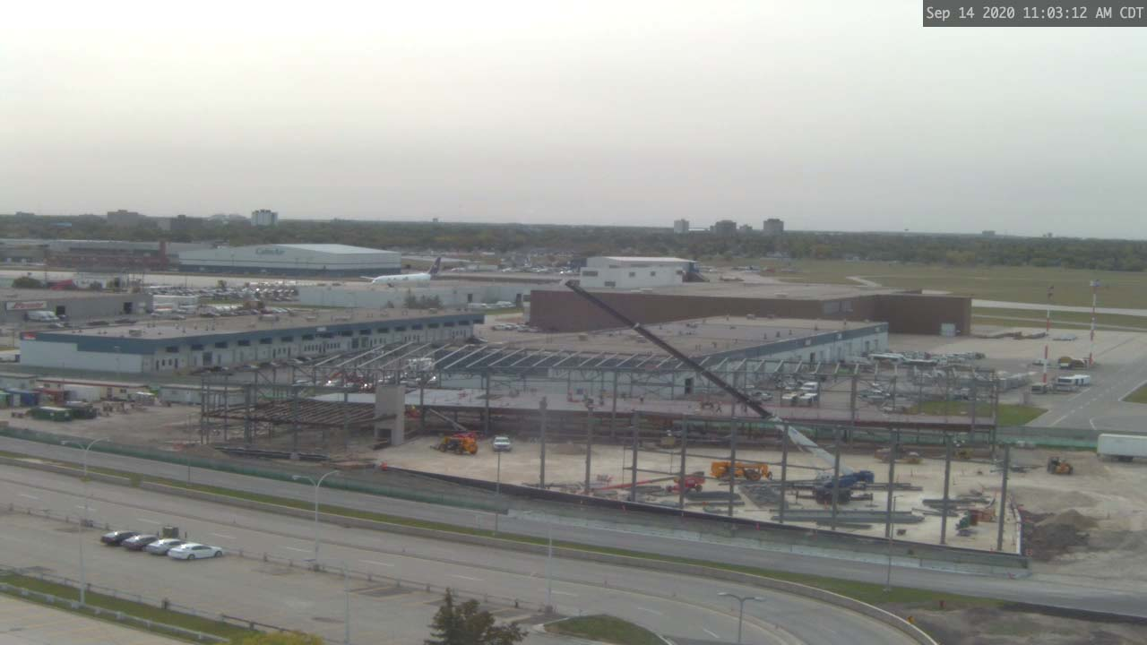 Construction Webcam September 14 2020