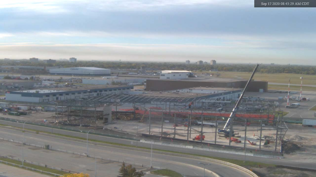 Construction Webcam September 17 2020