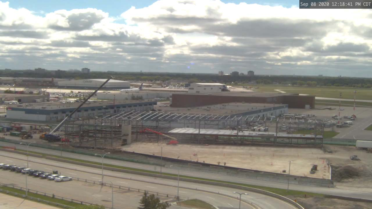 Construction Webcam September 8 2020