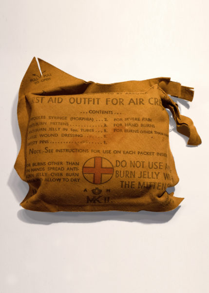Museum artifact - Second World War First Aid Kit for Air Crews