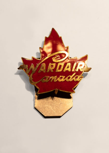 Museum artifact - Wardair Canada pin