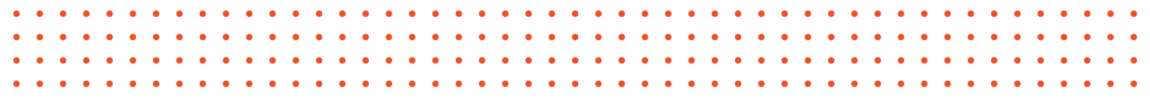rows of orange dots
