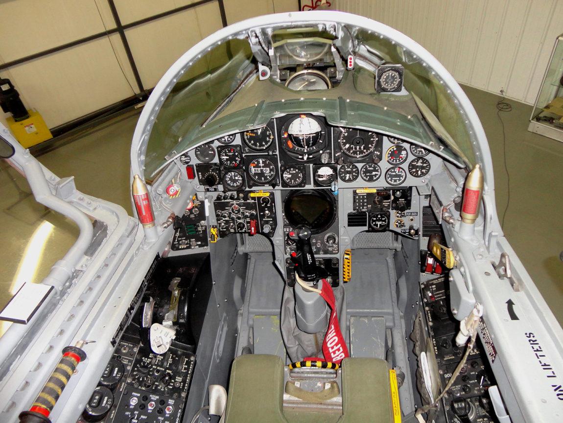 CF-104 Starfighter 12703 - Cockpit Close-up