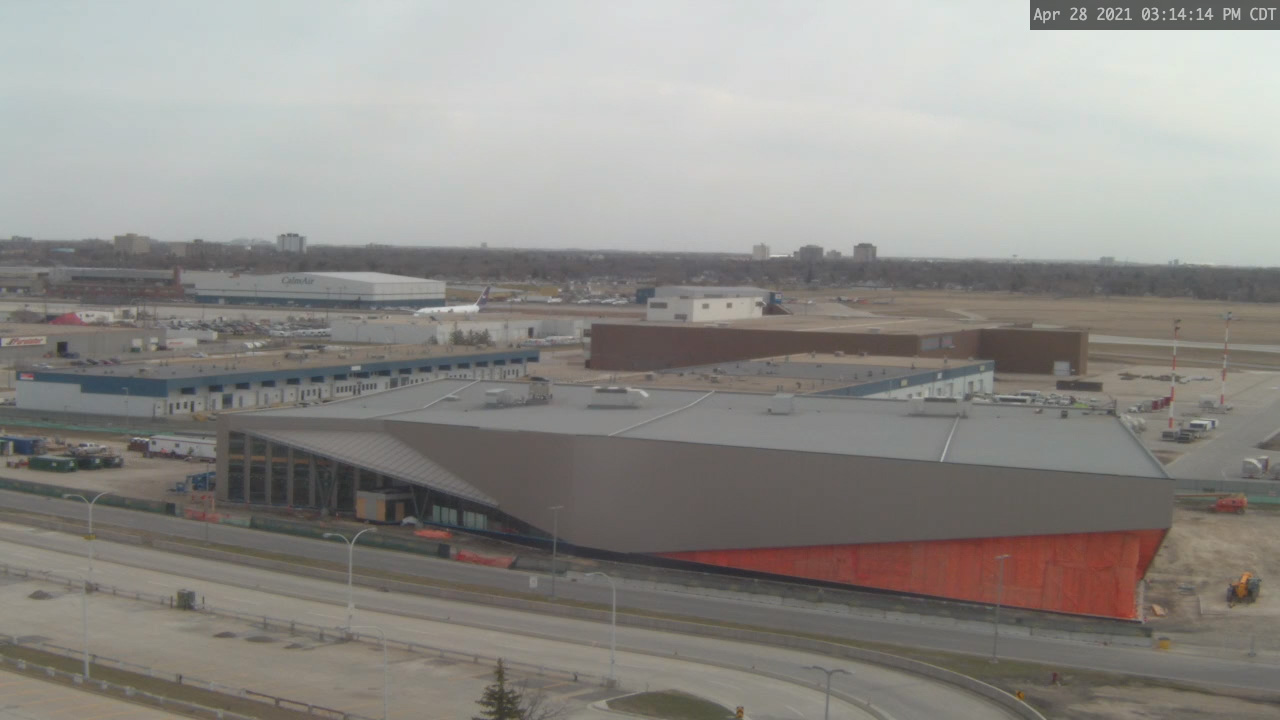 Construction Webcam April 28, 2021