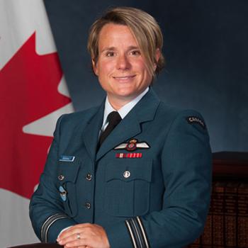 Maj. Genevieve Dussualt