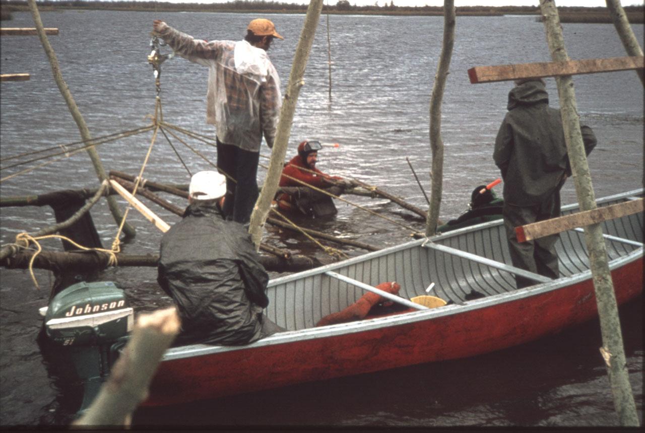 Raising the hull