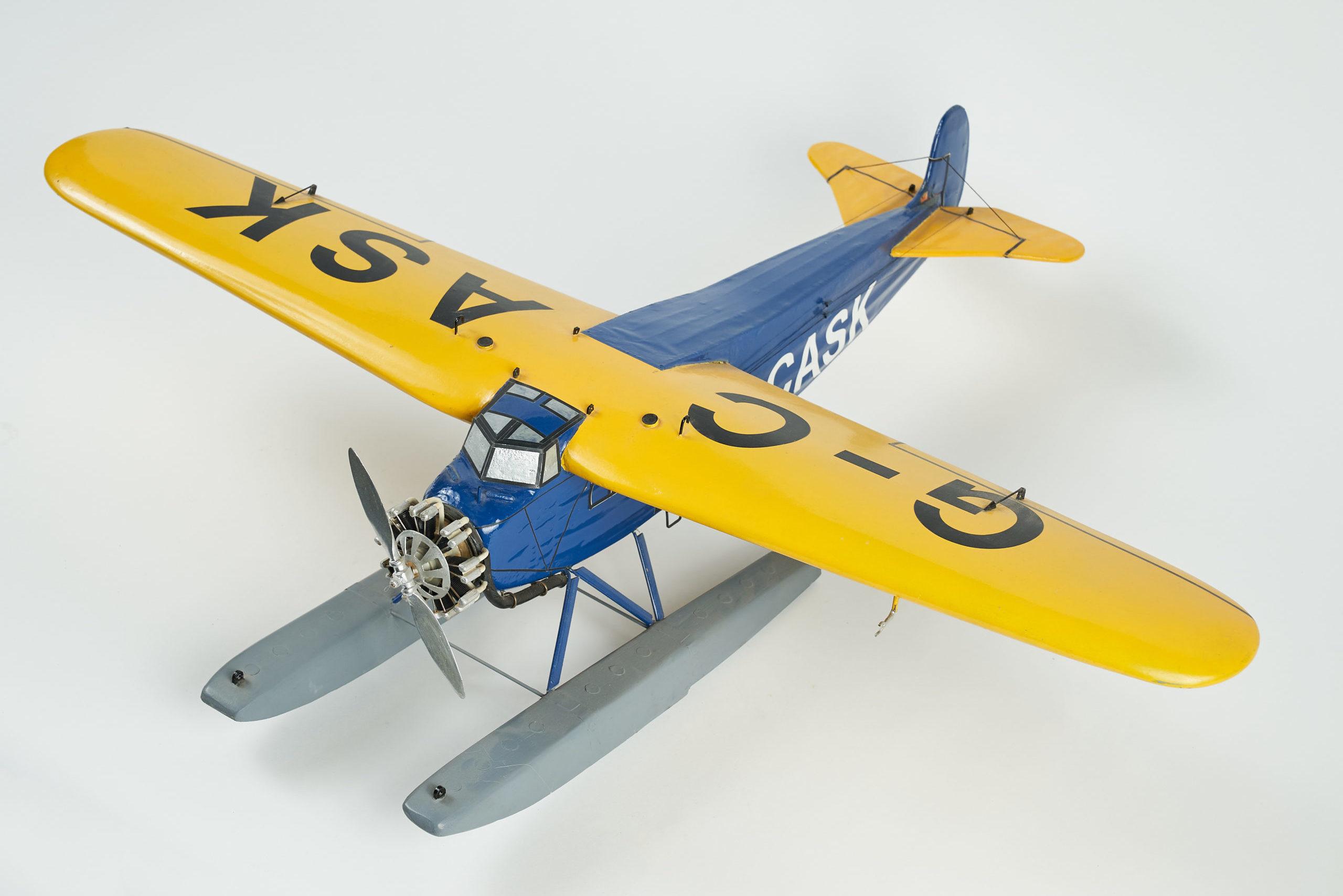 Fokker Super Universal Airplane Model (G-CASK)